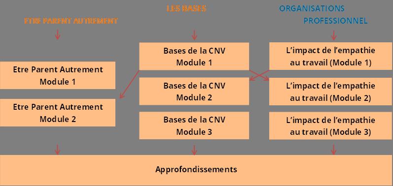 Parcours CNV 1er Semestre 2015
